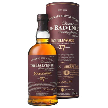 Balvenie 17yr Single Malt Scotch Doublewood