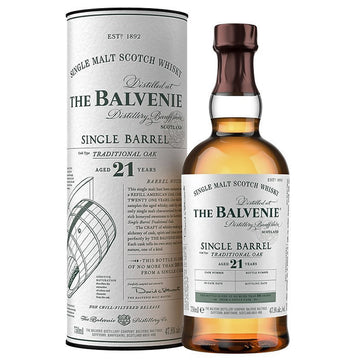Balvenie 21yr Single Barrel Traditional Oak