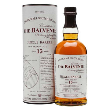 Balvenie 15yr Sherry Cask Single Malt Scotch