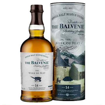 Balvenie Week of Peat 14yr Single Malt Scotch