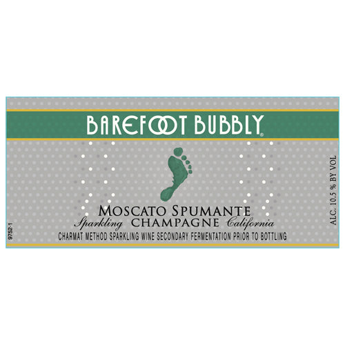 Barefoot Bubbly Moscato Spumante Sparkling