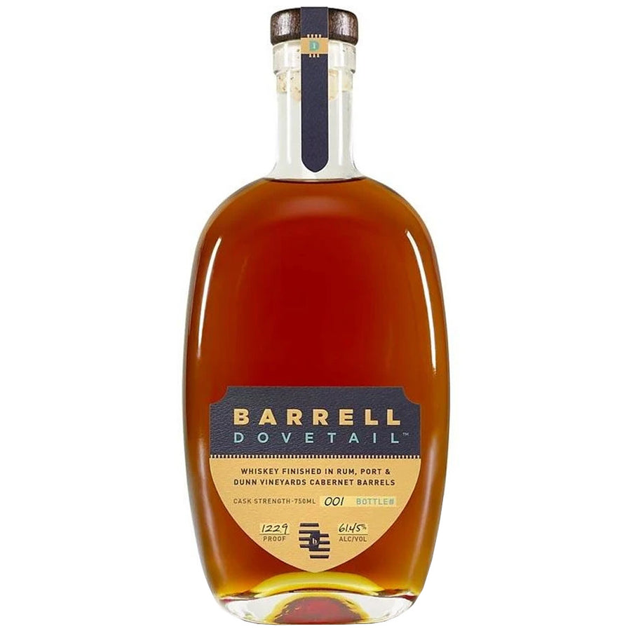 Barrell Dovetail Whiskey 122.9 Proof