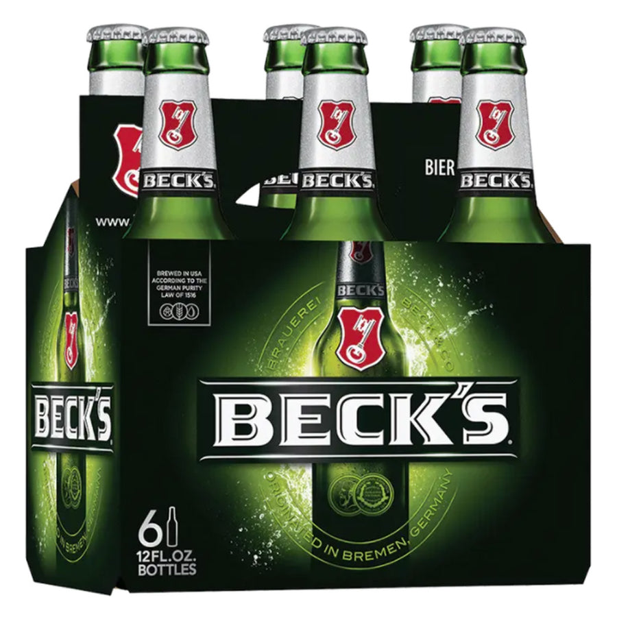 Beck's Beer 6pk 12oz Bottles