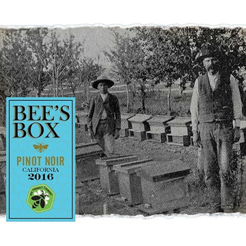 Bee's Box California Pinot Noir 2016