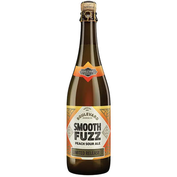 Boulevard Smooth Fuzz Peach Sour Ale 750ml Bottle