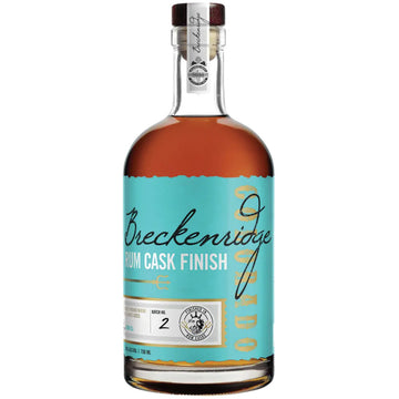 Breckenridge Rum Cask Finish Bourbon Whiskey