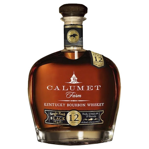 Calumet Farm Single Rack Black 12yr Bourbon