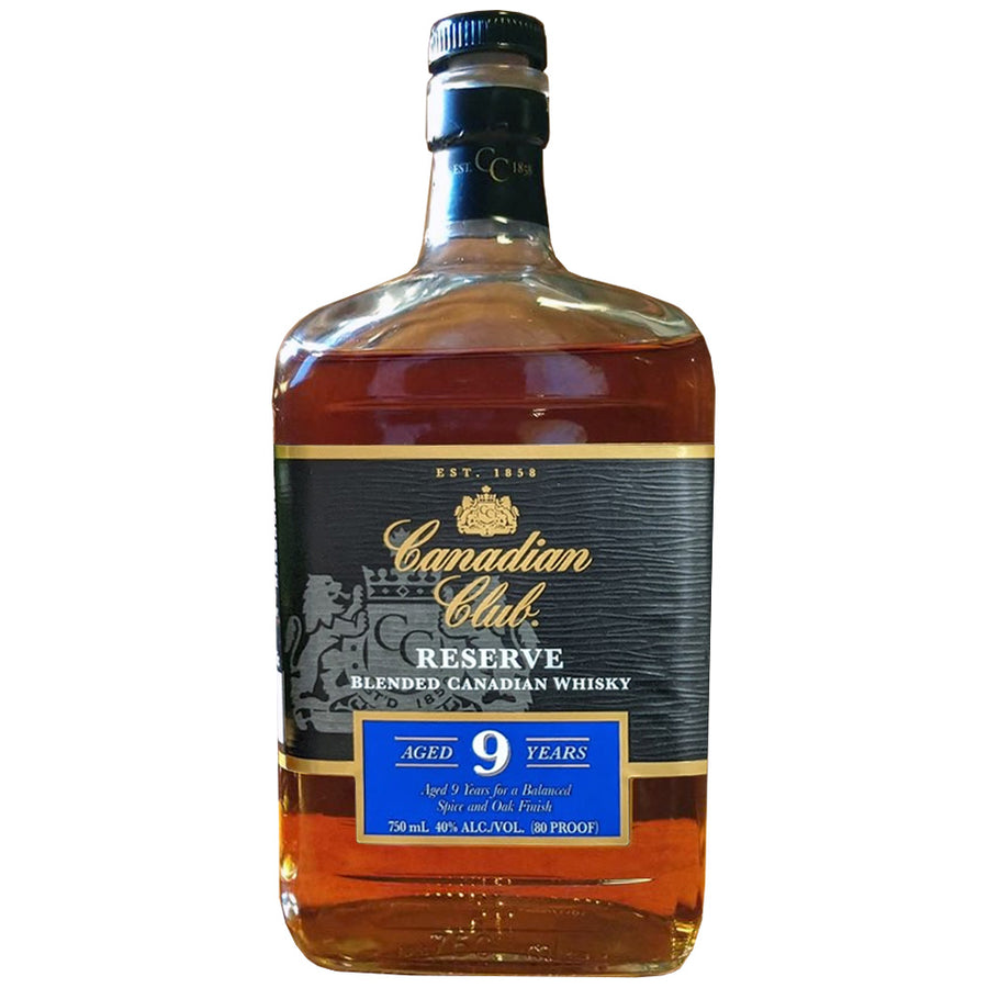 Canadian Club Reserve 9yr Blended Canadian Whisky