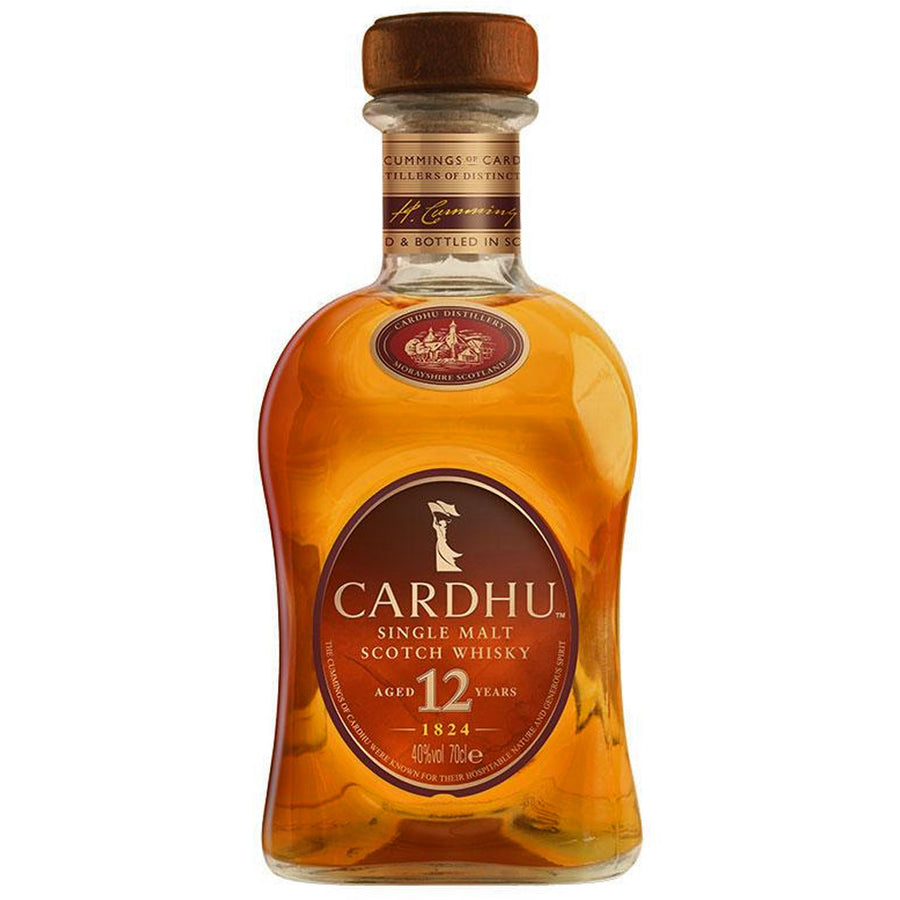 Cardhu 12yr Single Malt Scotch