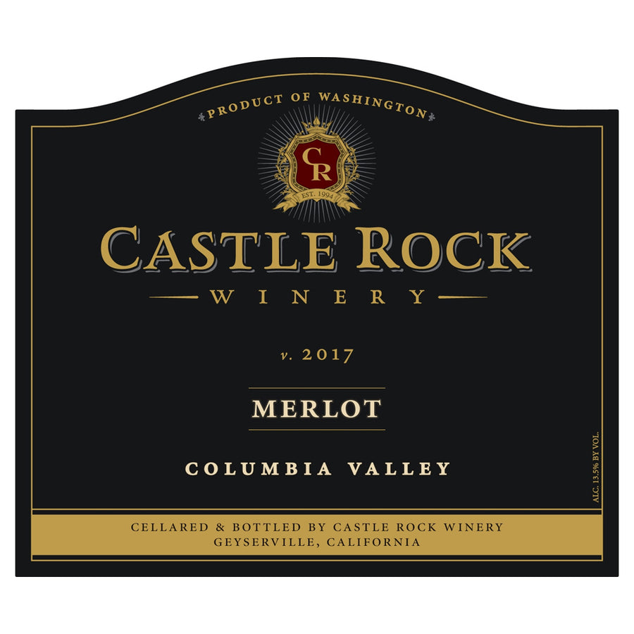Castle Rock Merlot Columbia Valley 2017