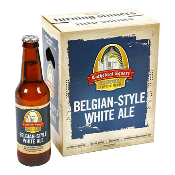 Cathedral Square Belgian Style White 6pk 12oz Bottles