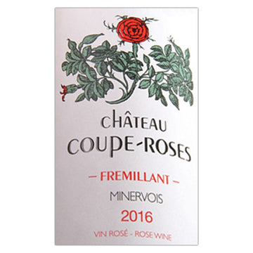Coupe Roses Minervois Rose