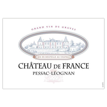 Chateau de France Rouge 2016