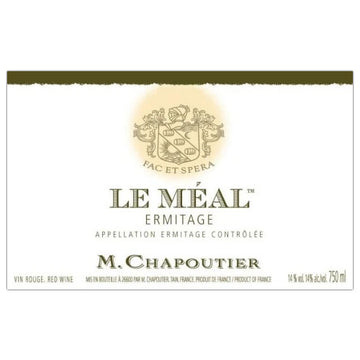Chapoutier Ermitage Rouge Le Meal 2010