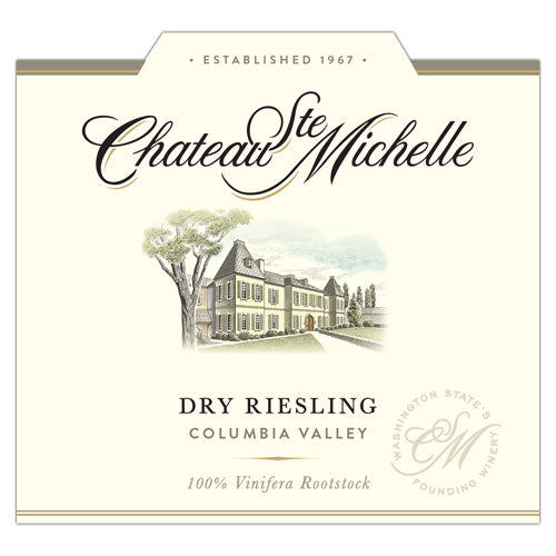 Chateau Ste Michelle Dry Riesling 2017