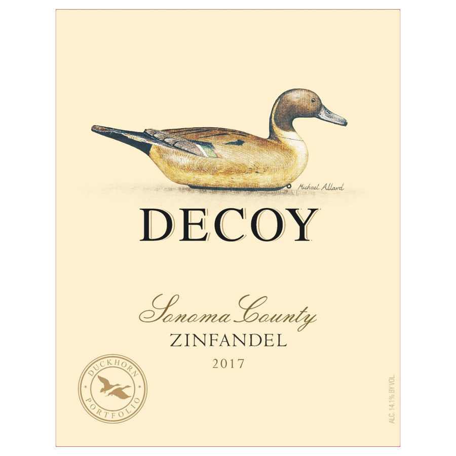 Decoy by Duckhorn Zinfandel 2017