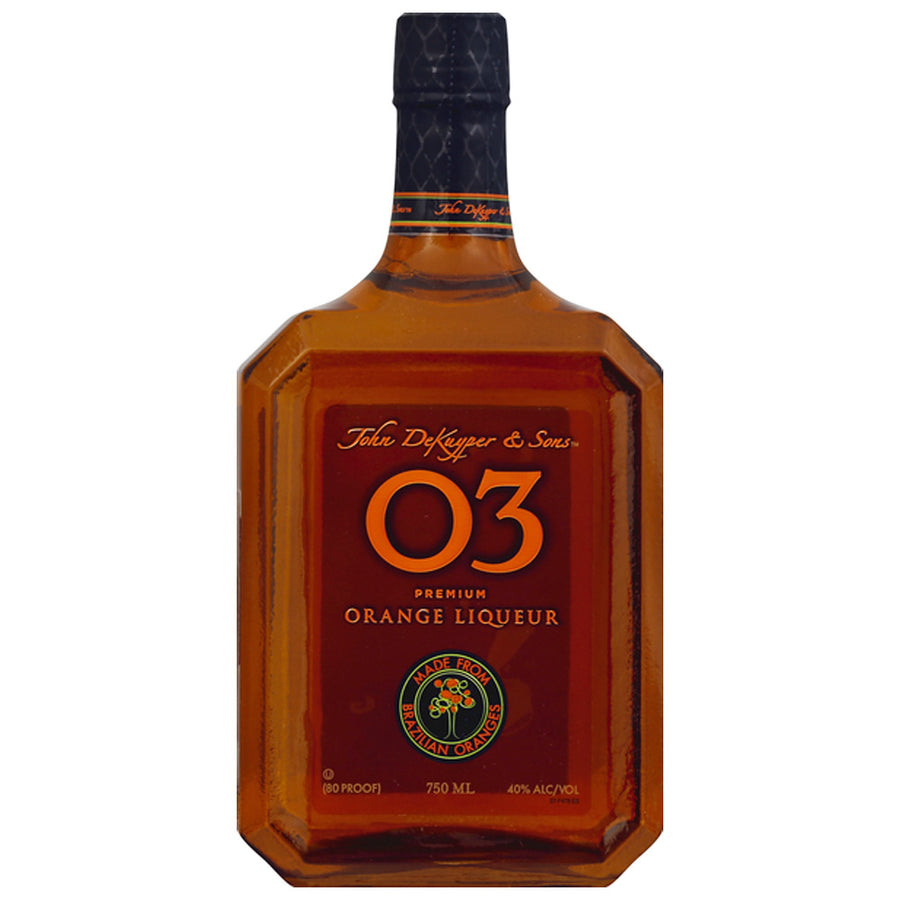 John DeKuyper & Sons O3 Premium Orange Liqueur