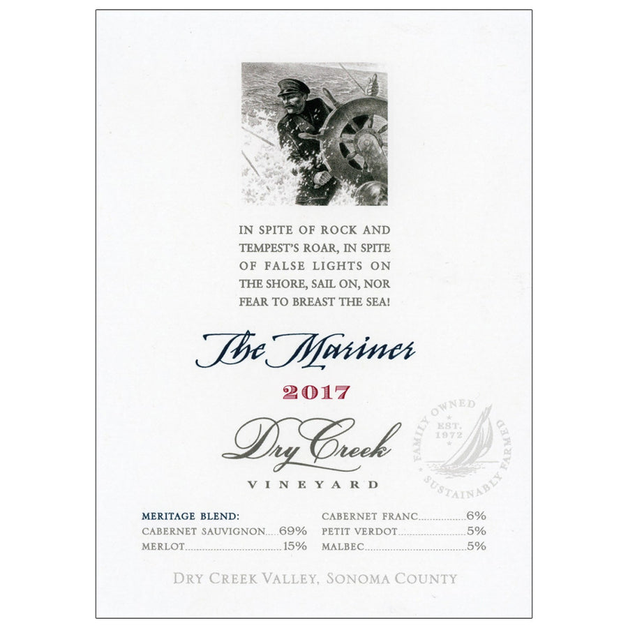 Dry Creek Vineyard The Mariner Red Blend 2017