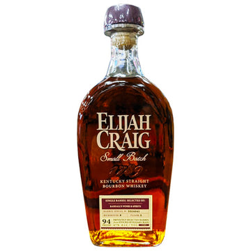 Elijah Craig 11yr 9mo Small Batch Bourbon - RWS Single Barrel