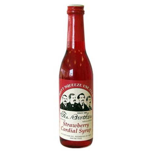 Fee Brothers Strawberry Syrup 375ml