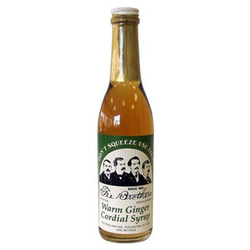 Fee Brothers Warm Ginger Syrup 375ml