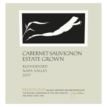 Frog's Leap Estate Grown Cabernet Sauvignon 2017