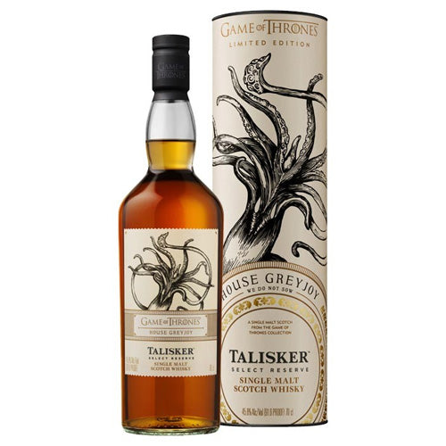 Game of Thrones House Greyjoy - Talisker Select Reserve