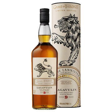 Game of Thrones House Lannister - Lagavulin 9yr