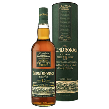 Glendronach 15yr Revival Single Malt Scotch