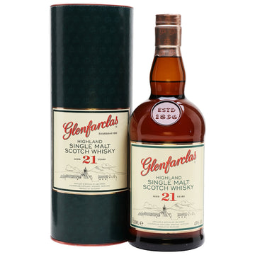 Glenfarclas 21yr Single Malt Scotch