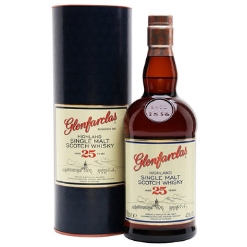 Glenfarclas 25yr Single Malt Scotch
