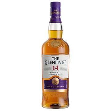Glenlivet 14yr Cognac Cask Selection Single Malt Scotch