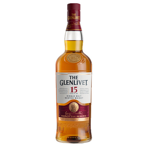 Glenlivet 15yr French Oak Reserve Single Malt Scotch