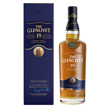 Glenlivet 18yr Batch Reserve Single Malt Scotch