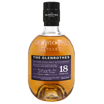 Glenrothes 18yr Single Malt Scotch