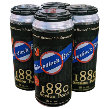 Griesedieck Bros 1880 Session Porter 4pk/16oz Cans