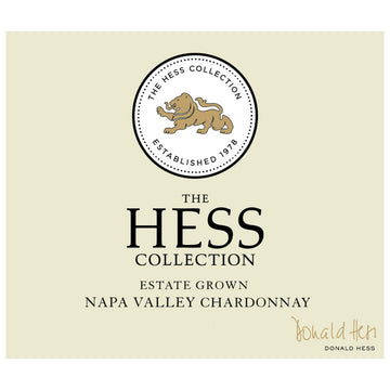 Hess Collection Napa Valley Chardonnay 2018