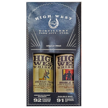 High West Whiskey 375ml 2-Pack