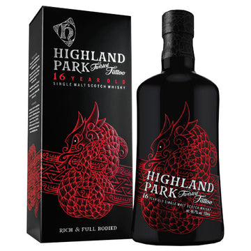 Highland Park Twisted Tattoo 16yr Single Malt Scotch