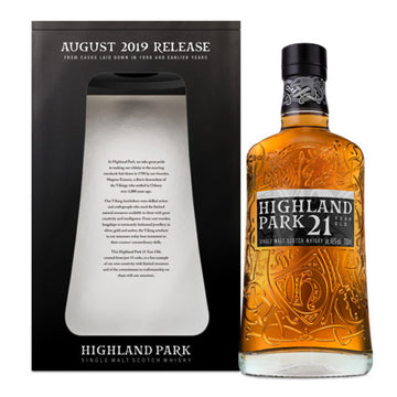 Highland Park 21yr Scotch