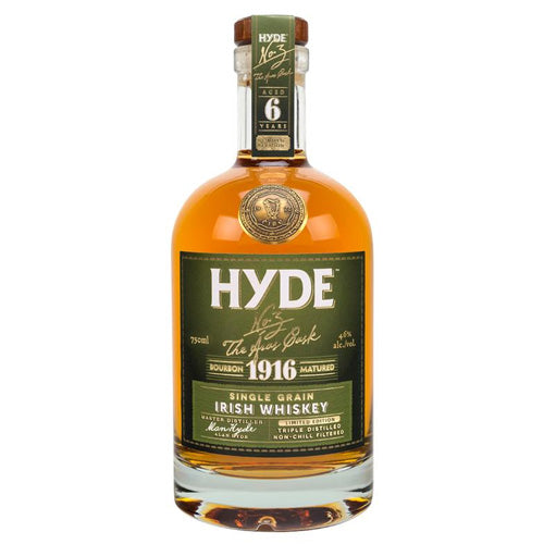 Hyde No. 3 President's Cask 6yr Irish Whiskey - Bourbon Cask Matured