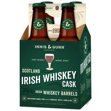 Innis & Gunn Irish Whiskey Barrel Aged Ale 4pk/11.2oz Bottles