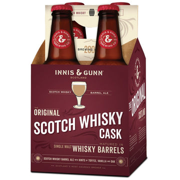 Innis & Gunn Original Scotch Whisky Barrel Aged Ale 4pk/11.2oz Bottles