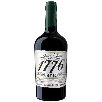 James Pepper 1776 Straight Rye Whiskey Barrel Proof