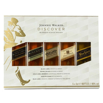 Johnnie Walker 50ml Sampler Gift Set