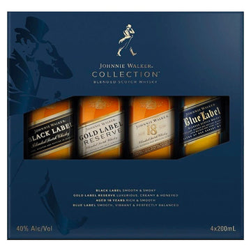 Johnnie Walker Collection 200ml Gift Set