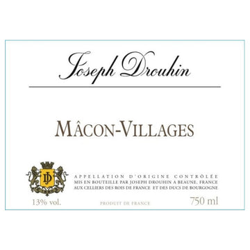Joseph Drouhin Macon Villages 2019