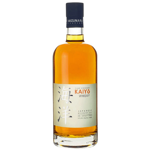 Kaiyo Japanese Mizunara Oak Cask Strength Whisky