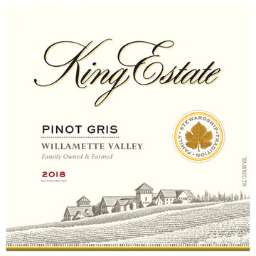King Estate Willamette Valley Pinot Gris 2018