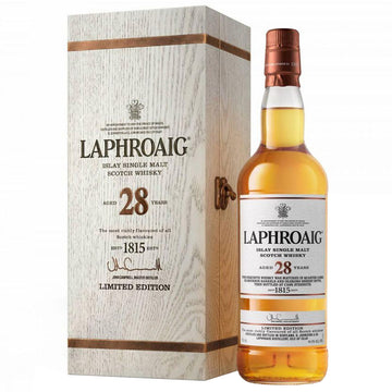 Laphroaig 28yr Single Malt Scotch